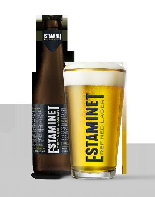 Estaminet Refined Lager - brouwerij De Hoorn